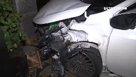 車禍撞進樓0600(DL)