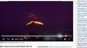 0525阿貢火山噴發(圖/翻攝自abc news)