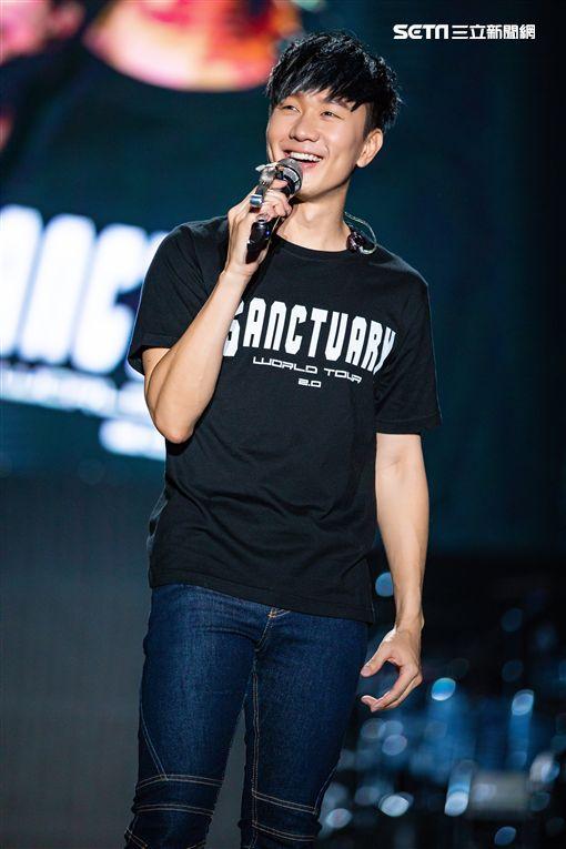 林俊傑睽違四年至青島開唱。(圖/JFJ Productions提供)