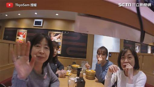 放GoPro上迴轉壽司運輸帶!記錄日本人用餐百態
