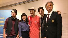 (左二起)張正芬、Leo王、Kurt、倪重華董事長。(圖/記者蕭翰弦攝影)