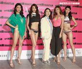 陶晶瑩出席「2019泳裝新品展演暨時尚音樂秀」擔任表演嘉賓。(記者邱榮吉/攝影)
