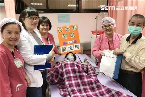 衛生福利部,台北醫院,控磷,血液透析中心,陳殷正,洗腎圖/台北醫院提供