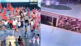 中國,漳州,兒童,死亡,舞蹈比賽,舞台(圖/翻攝自微博)