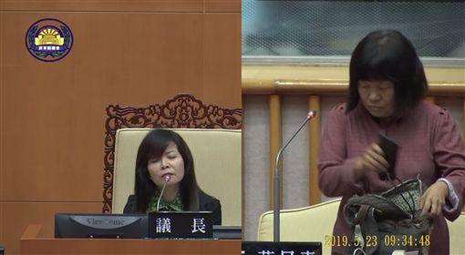 蔣月惠槓周碧雲,屏東縣議會議員問政影音隨選服務系統