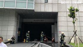 台北市誠品信義店發生火警(翻攝畫面)