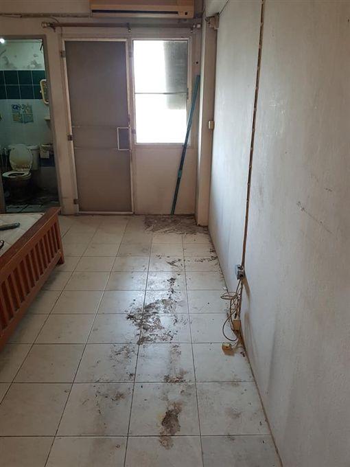 租屋9年不打掃!超噁房間照曝光(圖/翻攝自臉書)