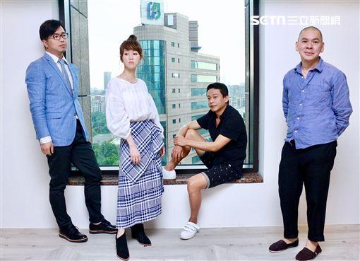 蔡明亮、主演李康生上《娛樂鄉民》主持人鄭偉柏、瑪麗圖/WinTV提供