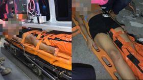 體重救了她!女歌手被甩憤上吊 斷線變墜樓保命(圖/臉書)