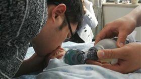中國大陸,難產,女嬰,器捐(圖/翻攝自浙江新聞)
