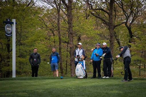 ▲TM高爾夫舉辦新品試打會讓球友嚐鮮。。(圖/TaylorMade Golf Taiwan提供)