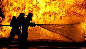 火災,火警,縱火,滅火,消防(示意圖/pixabay