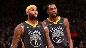NBA/勇士G1確定沒KD!表弟… NBA,季後賽,金州勇士,Kevin Durant,受傷,DeMarcus Cousins 翻攝自推特