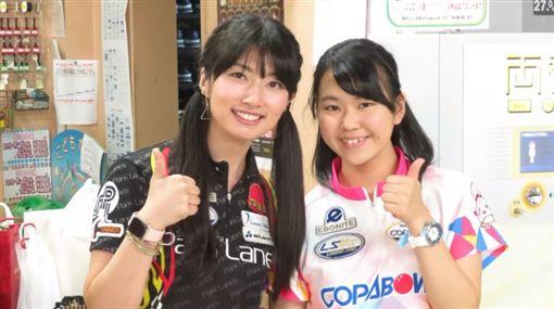 日本職業保齡球選手名和秋(圖/翻攝自カピバラボウル/Kapibara Bowl)