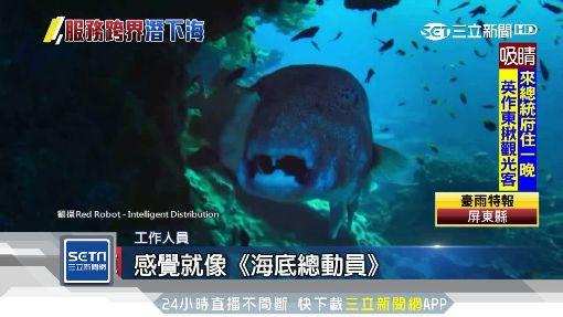 Uber也「下海」!潛艇載客遊覽海底世界