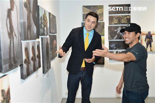 班傑專訪「漫威」首席設計師安東尼‧弗朗西斯科圖/八大電視提供