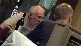 Steve Kerr與Gregg Popovich共進晚餐。(圖/翻攝自推特)