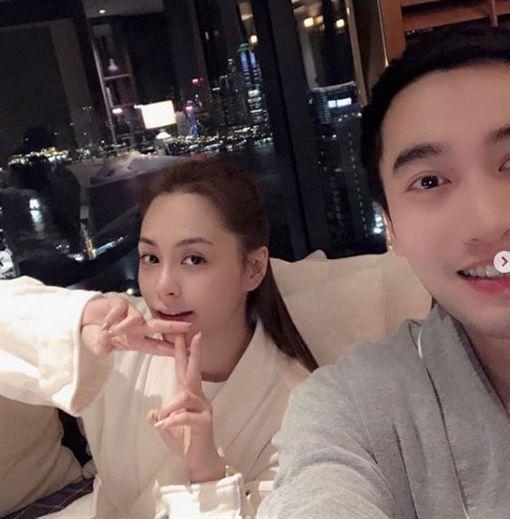 鍾欣潼(阿嬌),2018年高調宣布嫁給台灣的「醫界王陽明」賴弘國 IG