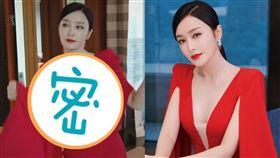 秦嵐/翻攝自秦嵐工作室微博