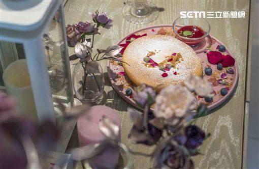 療癒,美食,petit doux,微兜,甜點,玫瑰浪花瓦帕,陳艾琳,浪花,玫瑰祕境