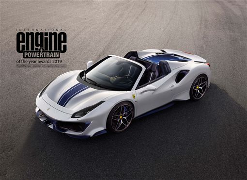 ▲Ferrari V8引擎奪下國際年度引擎大獎。(圖/Ferrari提供)