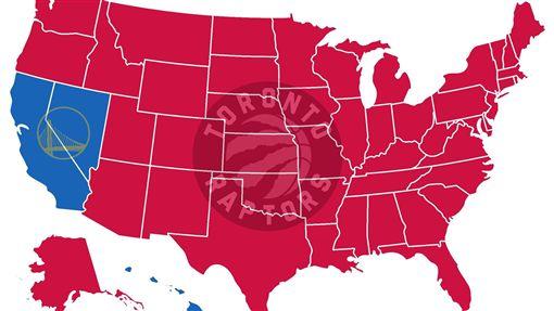 全美高達47週都支持暴龍奪冠。(圖/翻攝自SFGate推特)