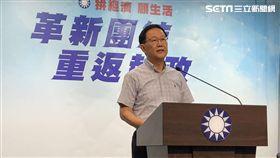 丁守中召開記者會,將對台北市長選舉無效官司上訴 圖/黃宣尹攝影