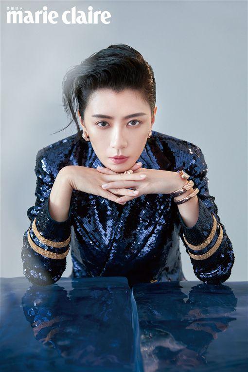 賈靜雯 marie claire美麗佳人國際中文版提供