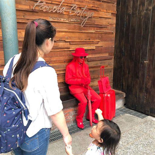 紅色遊民 林依晨 (圖/IG)