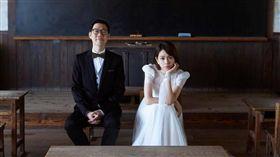 夏于喬,結婚,林書宇,婚訊(圖/翻攝自夏于喬臉書)