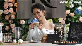 吳姍儒Sandy今(31號)出席Nespresso咖啡活動。(圖/記者蕭翰弦攝影)
