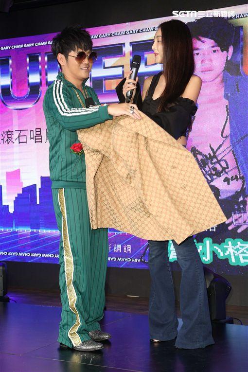 記者林士傑攝影 曹格與老婆吳速玲