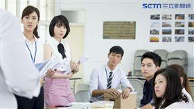 《最佳利益》實習律師群,左起:陳怡嘉、程予希、鍾承翰、楊銘威。(圖/中天電視提供)