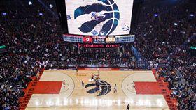 NBA,球場,暴龍主場,場館,總冠軍賽。(圖/翻攝自NBA官方推特)