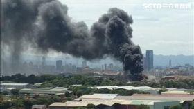 新北市,五股,火警,堆高機,濃煙