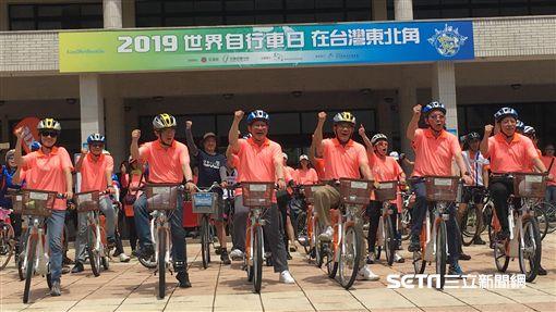世界自行車日,自行車,交通部,林佳龍,行政院,蘇貞昌,/記者蕭筠攝影
