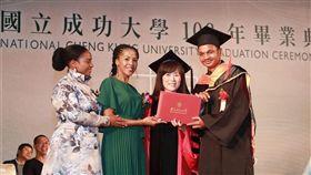 非洲王子「愛台灣!」讀完碩士不想走 非洲王子,成大