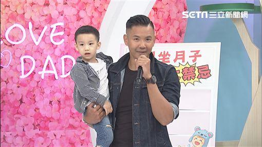 楊千霈及楊皓如、黑人《叫我神隊友》圖/中天電視提供