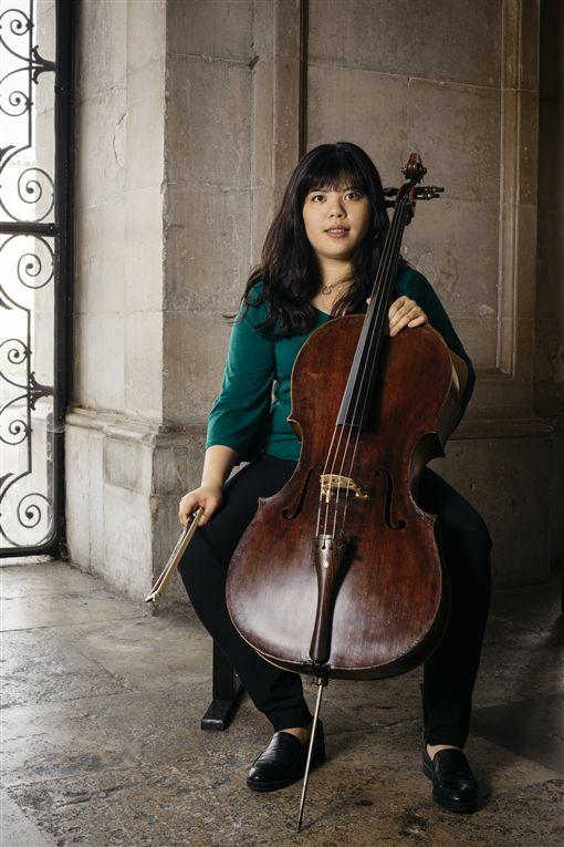 旅英大提琴家 林冠吟提供