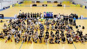 ▲台中逢甲大學,吸引超過148支隊伍參賽。(圖/國泰NBA 3x提供)