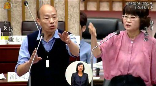 李喬如,韓國瑜,總統,高雄市議會,觀光