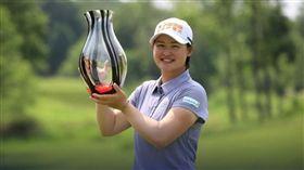 ▲李旻再次在LPGA次巡賽摘下冠軍。(圖/翻攝自LPGA官網)