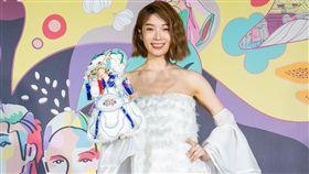 蔡淑臻在3日出席雲林「YUNLIN STAR 旅遊大使我可以」報名起跑記者會/伊林娛樂提供