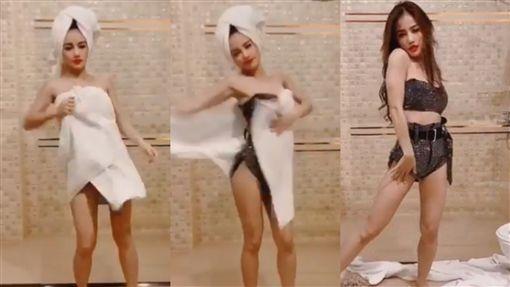 泰國,歌手,女星,Kratae R Siam,泰拳,跳舞,浴室, 圖/翻攝自Kratae R Siam IG