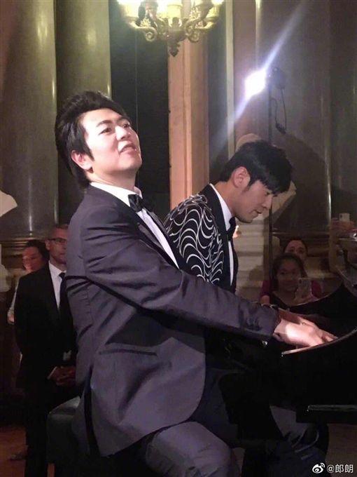 周杰倫與郎朗婚禮 翻攝微博