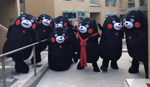 熊本熊,東京奧運,日本,火炬手(圖/翻攝自臉書,くまモン Kumamon 熊本熊 Kawaii)