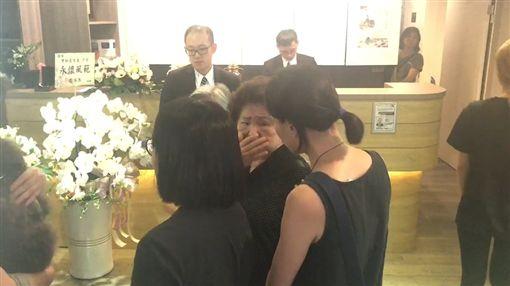 賀一航、賀媽媽/記者李依純拍