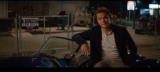 ▲Matt Damon飾演車界傳奇Carroll Shelby。(圖/翻攝網站)