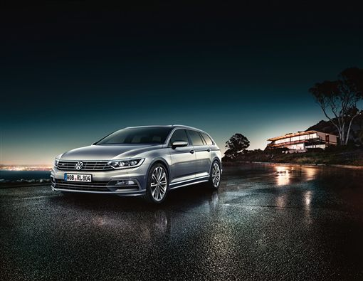 ▲Passat Variant 330 TSI R-Line 30 Million Edition。(圖/Volkswagen提供)