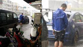 新竹,雨,淋雨,失戀,失意,濕透,落寞,暴雨,自殺,輕生,新竹大小事 圖/翻攝自新竹大小事臉書